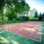Kort tenisowy otwarty